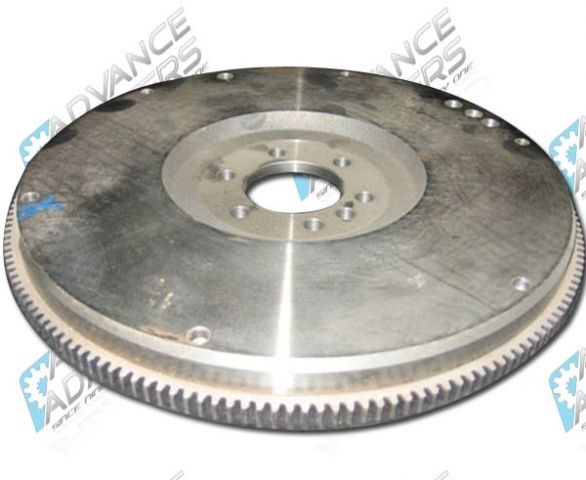 CF786168 : GM/Chevy 168 Tooth Cast Iron Flywheel for externally balanced 1986 and newer (Non Gen3) Motors