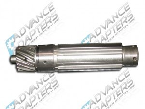 911362 : Saturn & Warn Overdrive splined shaft kit.