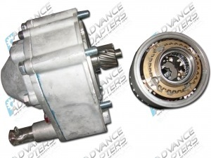 915676 : Saturn & Warn Overdrive for Jeeps 1941 to 1971, Mitsubishi Jeep 31 tooth gear 10 spline output