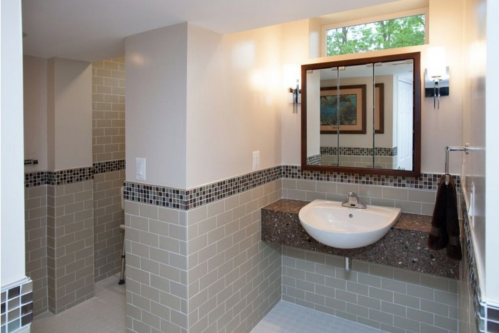 Wheelchair Bathroom Design DC, MD, VA