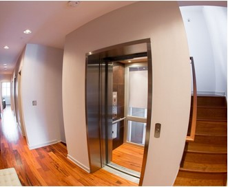 Standard Residential Home Elevators Working model in Showroom!