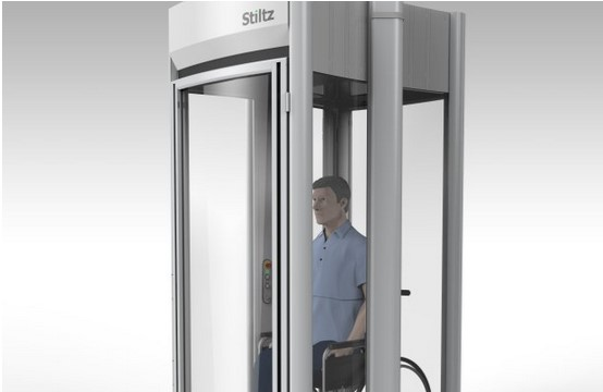 StiltzLifts Home Elevator Residential Lift Working model in the showroom!5