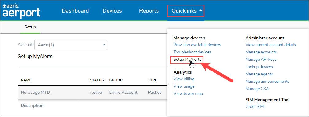 Quicklink_Setup_MyAlerts