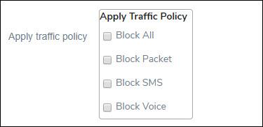 Applying Traffic Policy