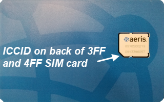 SIM Back