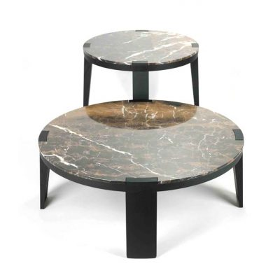 SUMO, centre table in wood and marble by Dan Yeffet for Collection Particulière - AFFLUENCY, Unique by Design - Asia's premier destination to discover and shop online for Luxury furniture, unique home decor and design masterpieces
