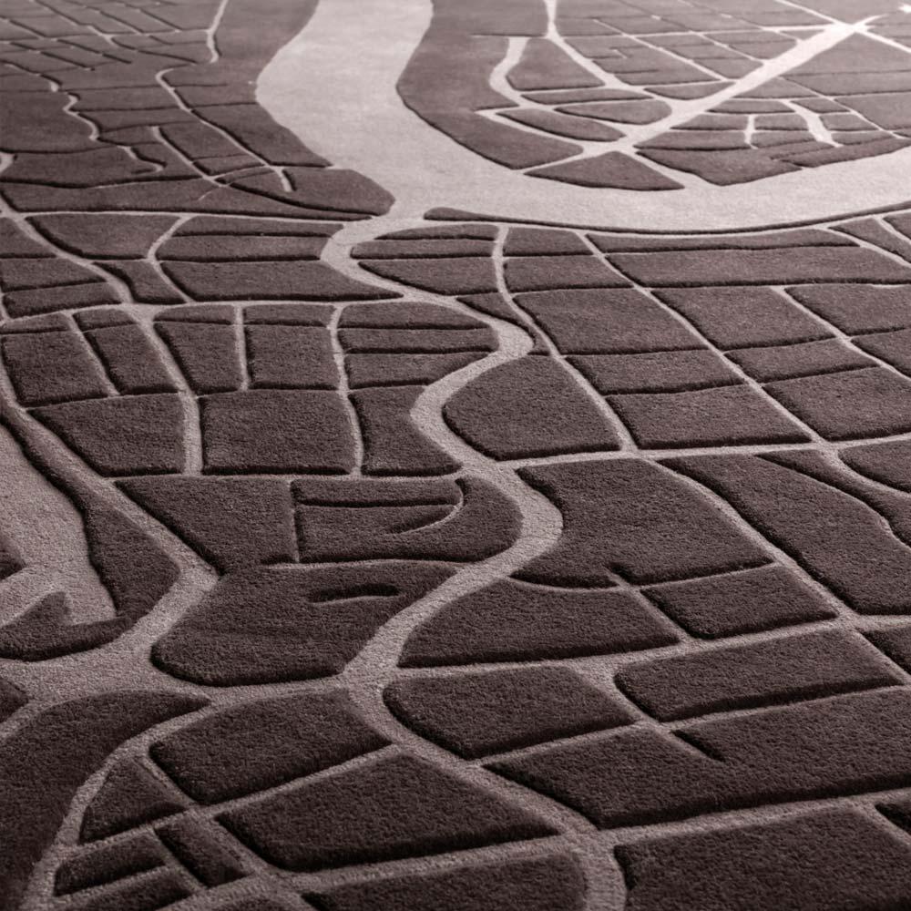 urban fabric, luxury grade rugs