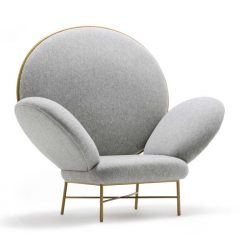 stay armchair, se collection, colours and glamour for a timeless design