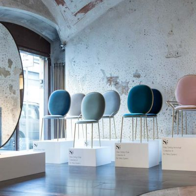 stay dining chair, se collection, colours and glamour for a timeless design
