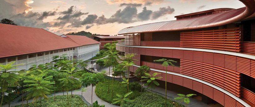 the Capella Hotel, Sentosa Singapore, luxury hotels