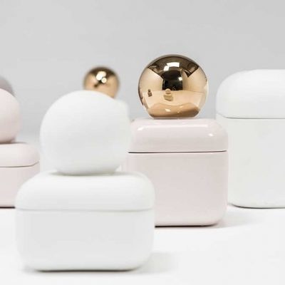 Whisper Box, jewelry box in ceramic and glazes, by Nika Zupanc for Sé Collection