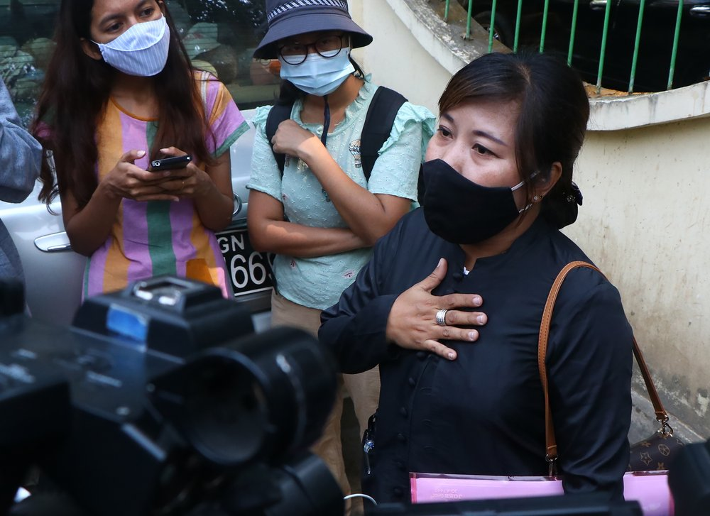 Myanmar court extends pretrial detention of AP journalist; could get 3 years