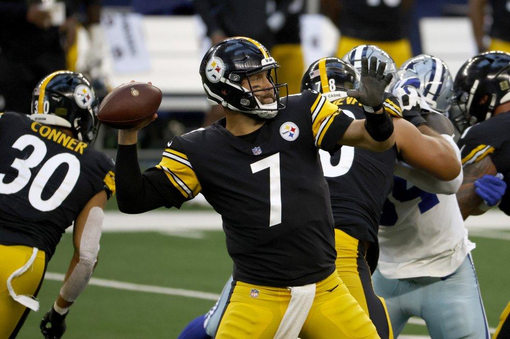 Steelers quarterback Ben Roethlisberger returns from knee injury in game at Dallas