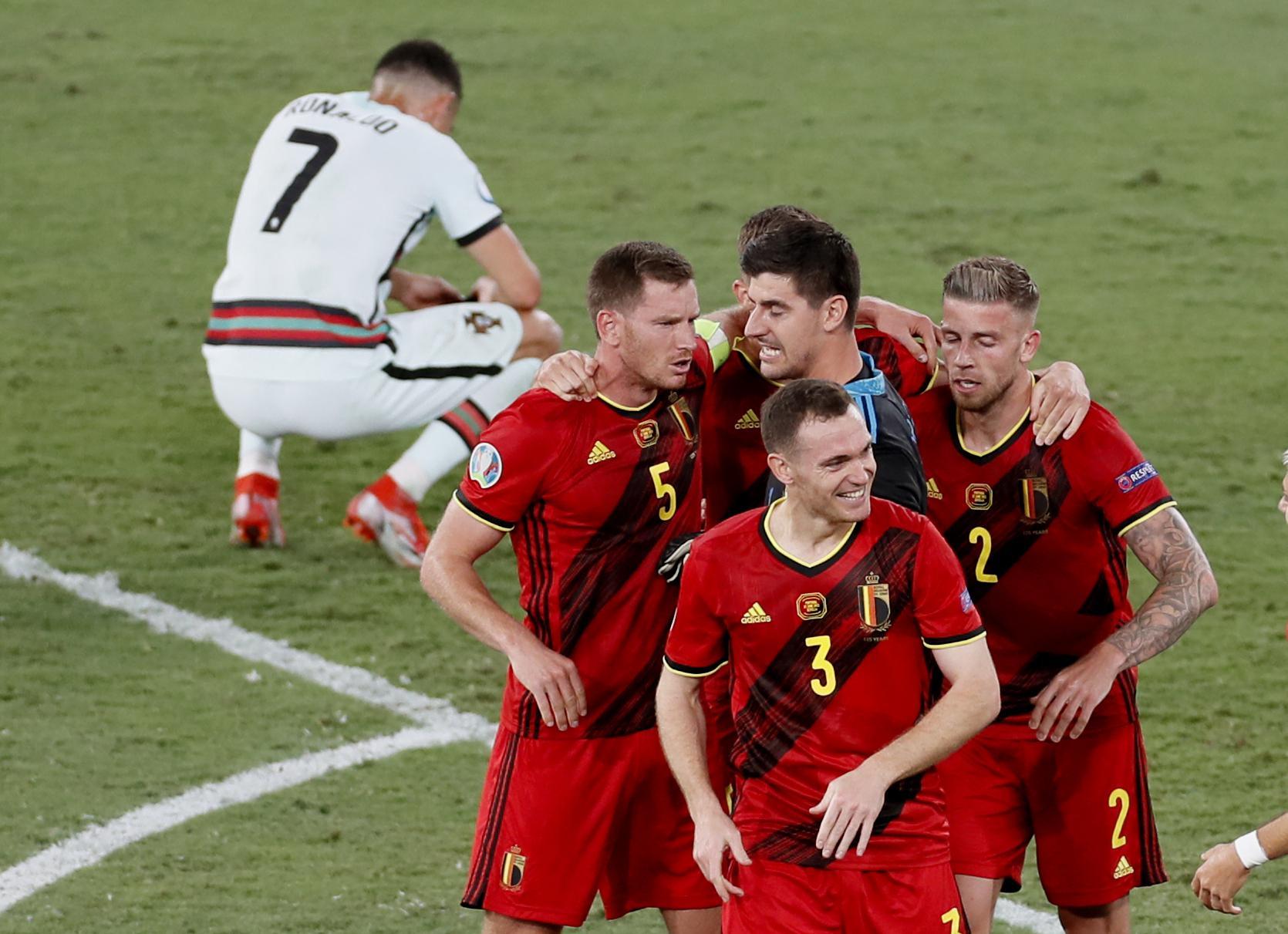 Belgium edges Portugal, reaches quarterfinals at Euro 2020