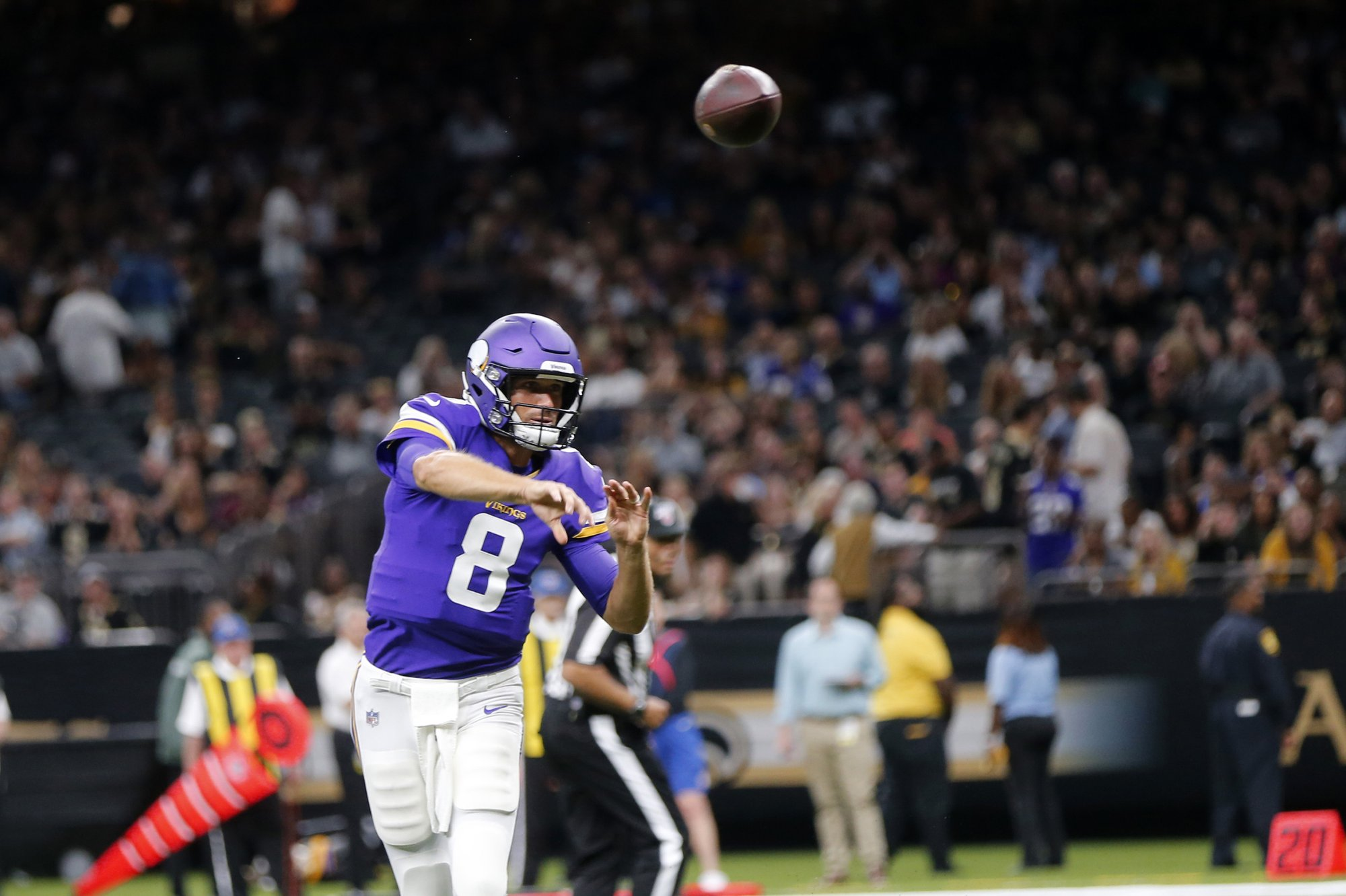 NFL 2019: Buzz is missing, but pressure persists for Vikings