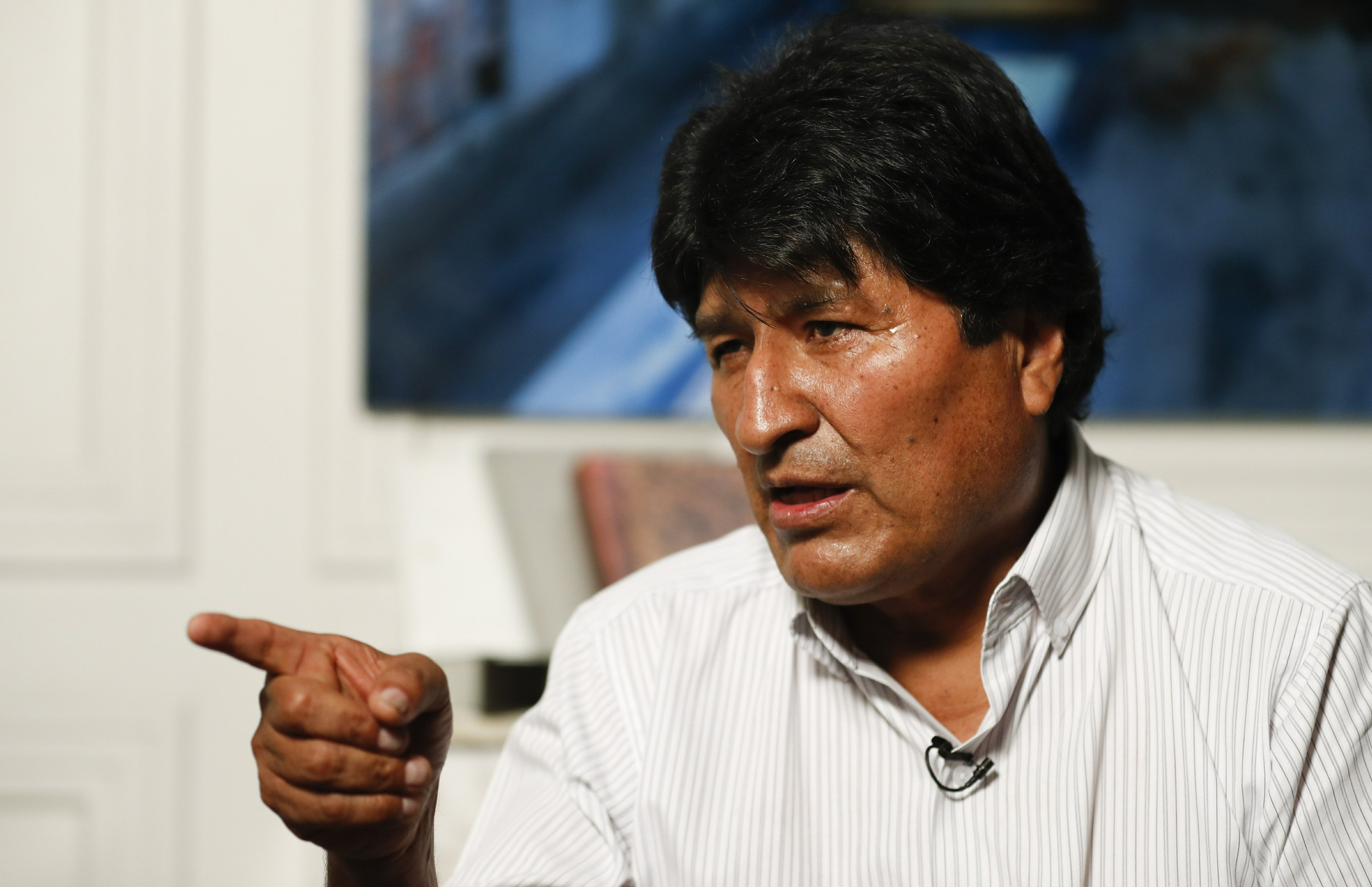 AP Interview: Evo Morales wants UN mediation in Bolivia