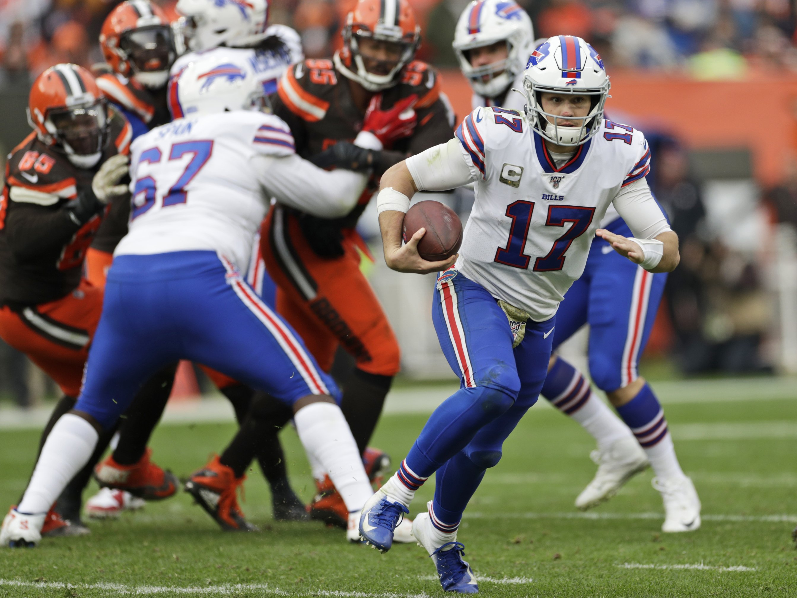 Bills offense showing signs of regressing