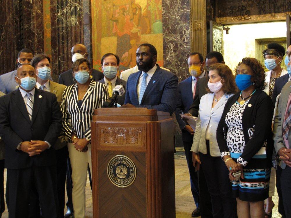 Latest on virus cases in Louisiana