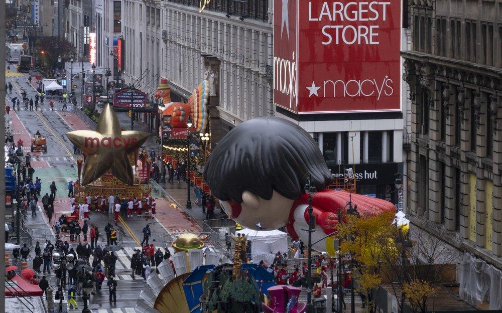 Macy's Thanksgiving Day Parade takes flight despite coronavirus pandemic