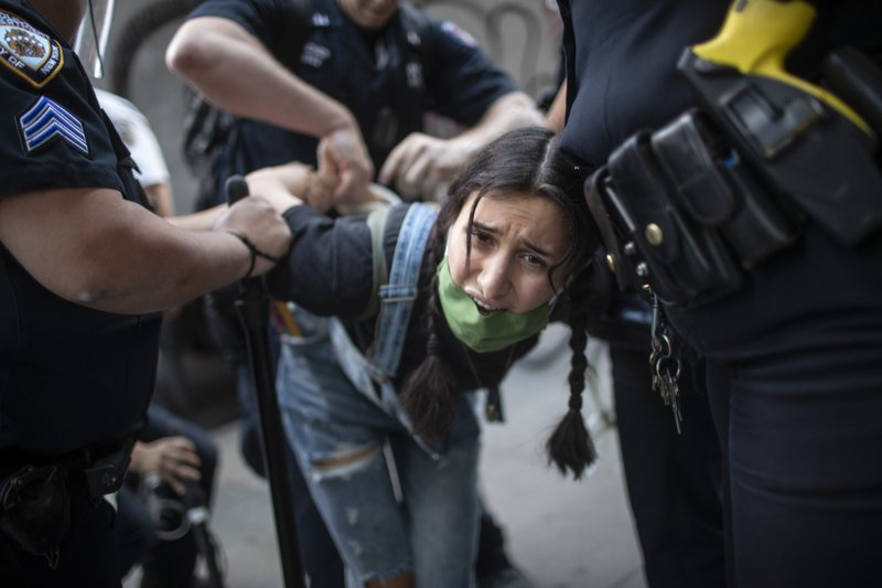 Nearly 1,400 arrests nationwide since beginning of protests; 533 from Los Angeles alone