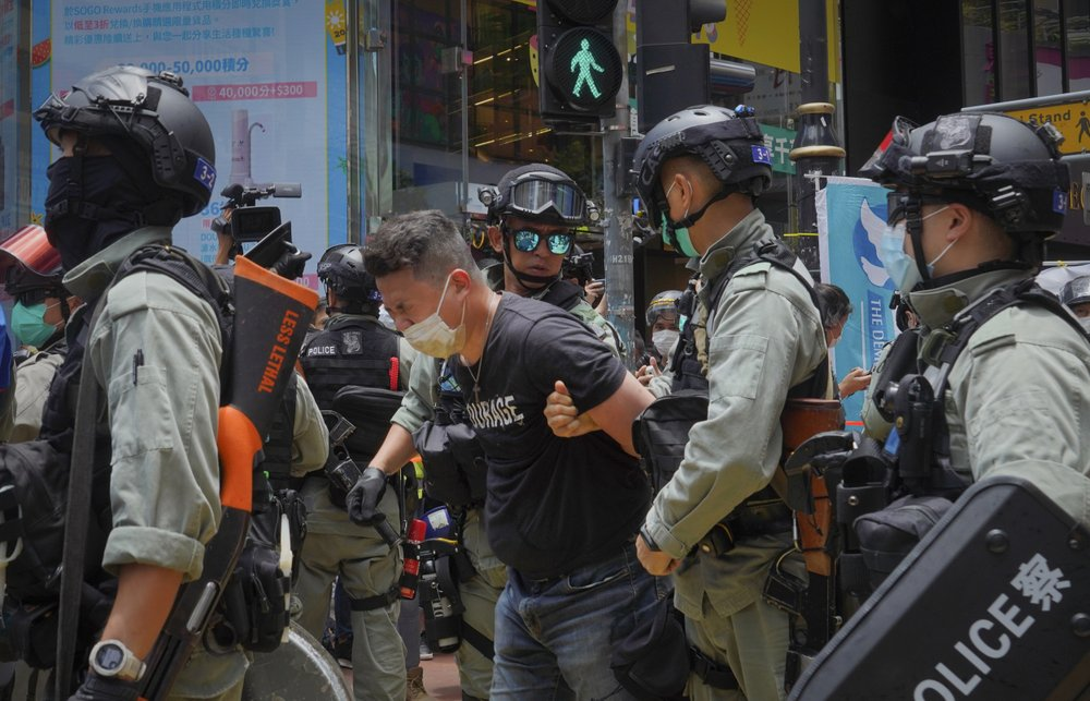 Новый закон о безопасности в действии: полиция Гонконга произвела первый арест