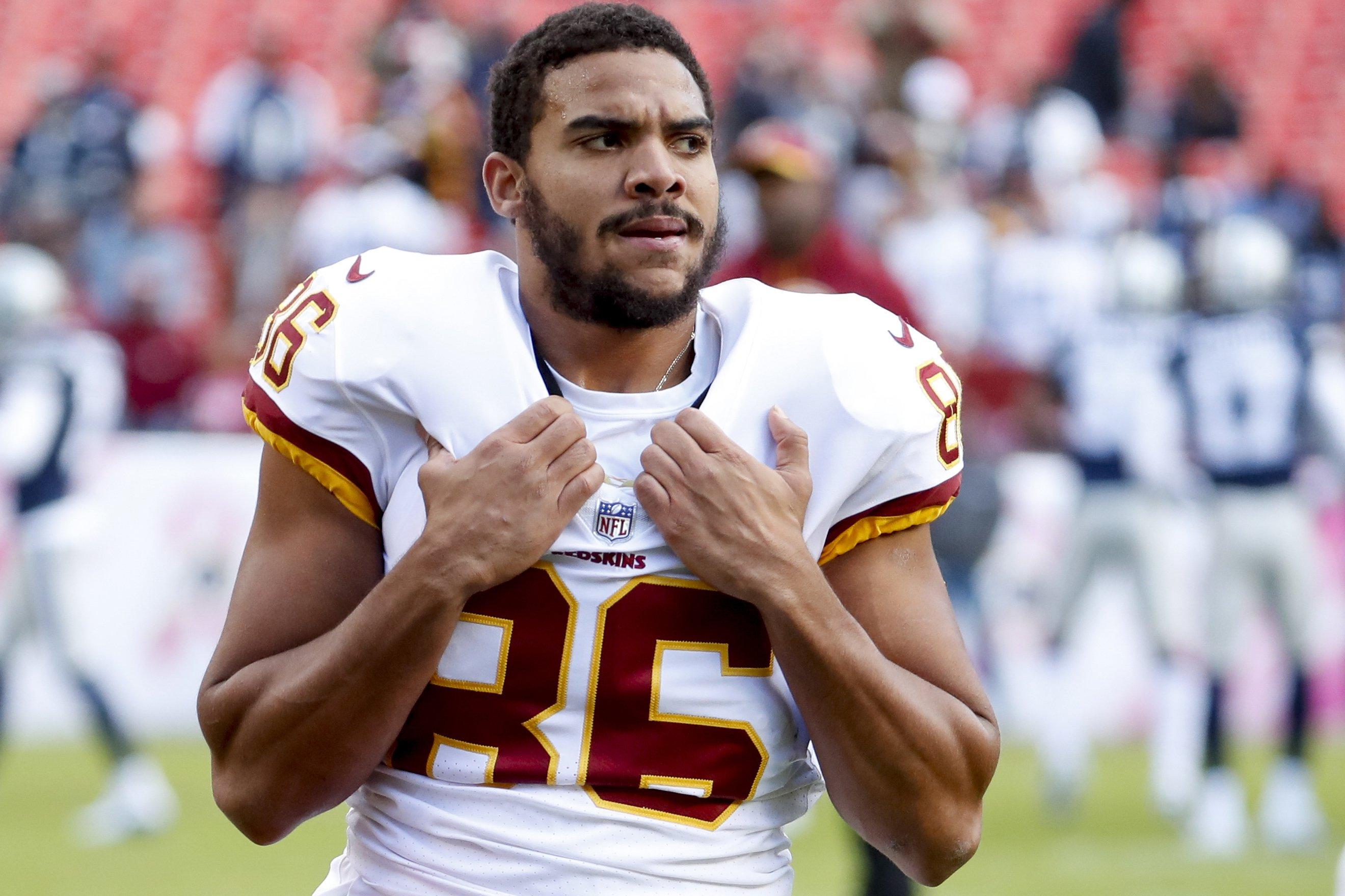 Redskins release injury-prone tight end Jordan Reed