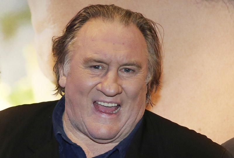 French actor Depardieu charged with rape