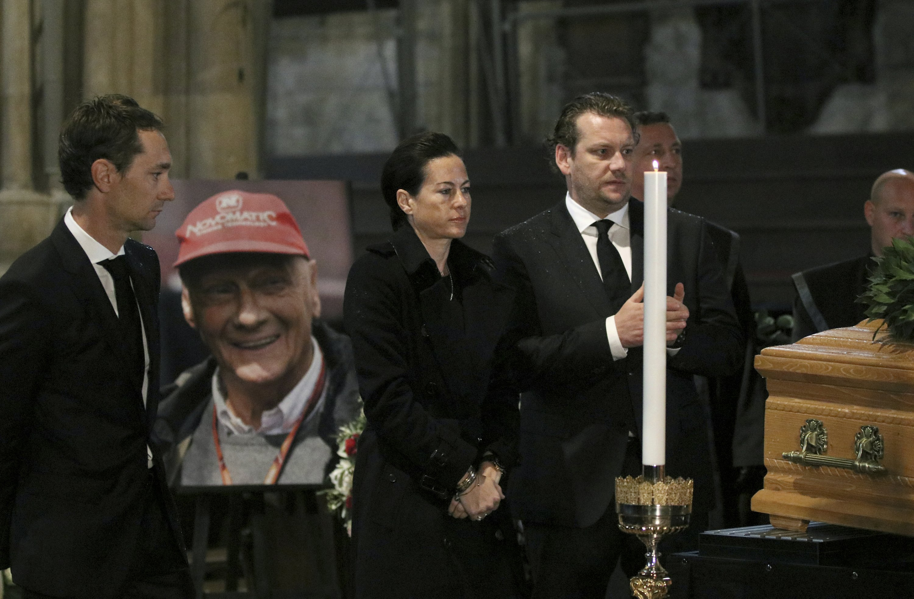 Family, fans to attend requiem for F1 great Niki Lauda