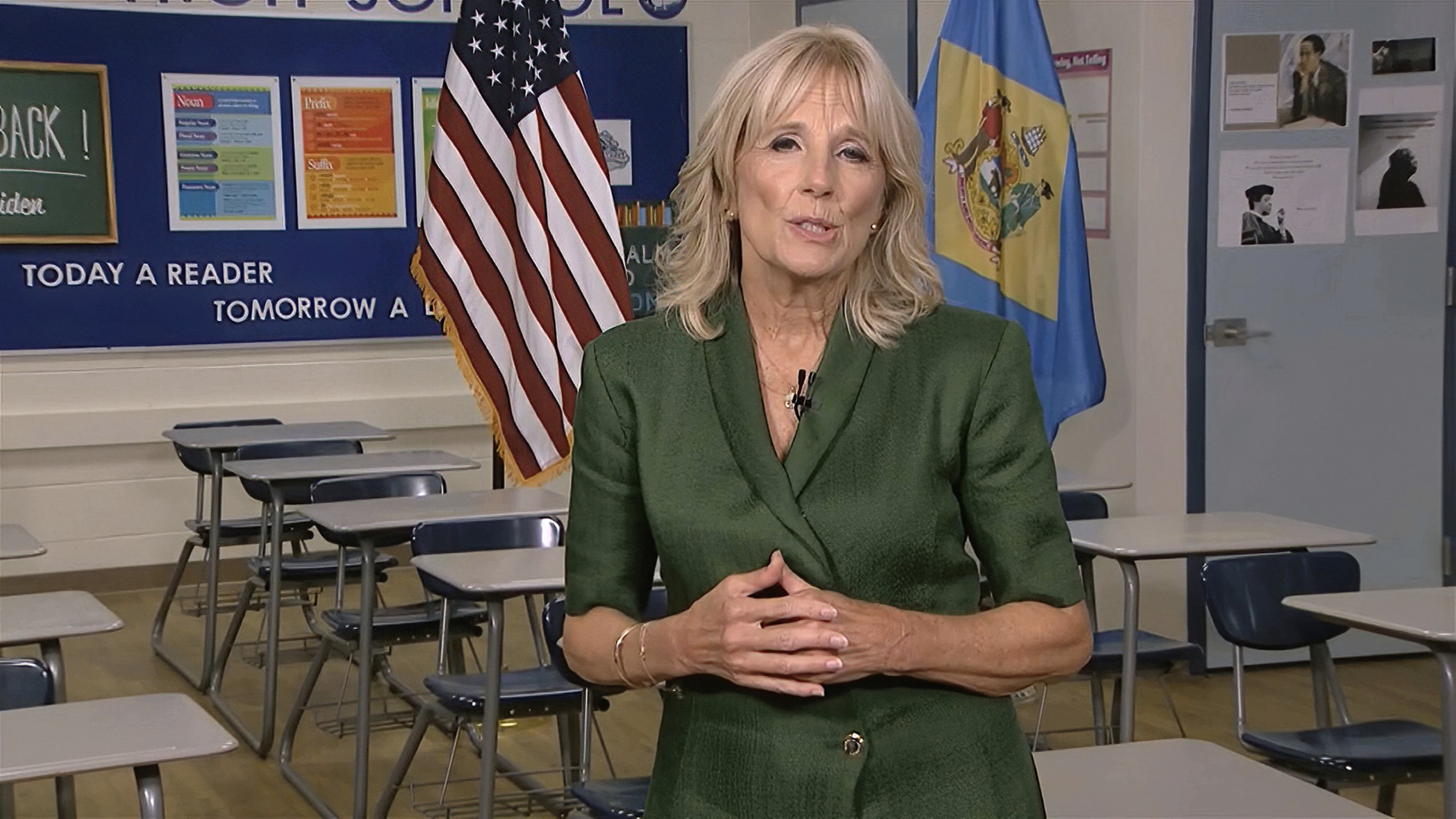 At DNC, Jill Biden pledges husband Joe will 'make us whole'