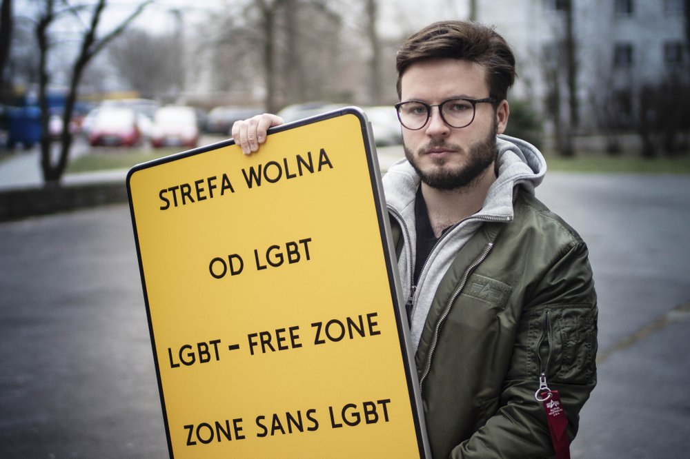 "Here We Go: Parliament votes to declare entire European Union a 'freedom zone' for LGBT people largely in response to Poland's strong stand against ""LGBT ideology"""