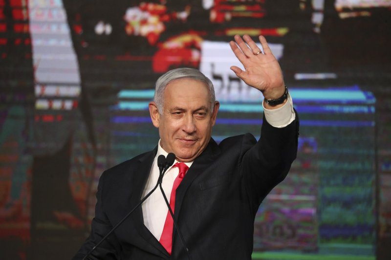Netanyahu fights to stay afloat; faces uncertain future as no clear winner in Israeli election; more deadlock