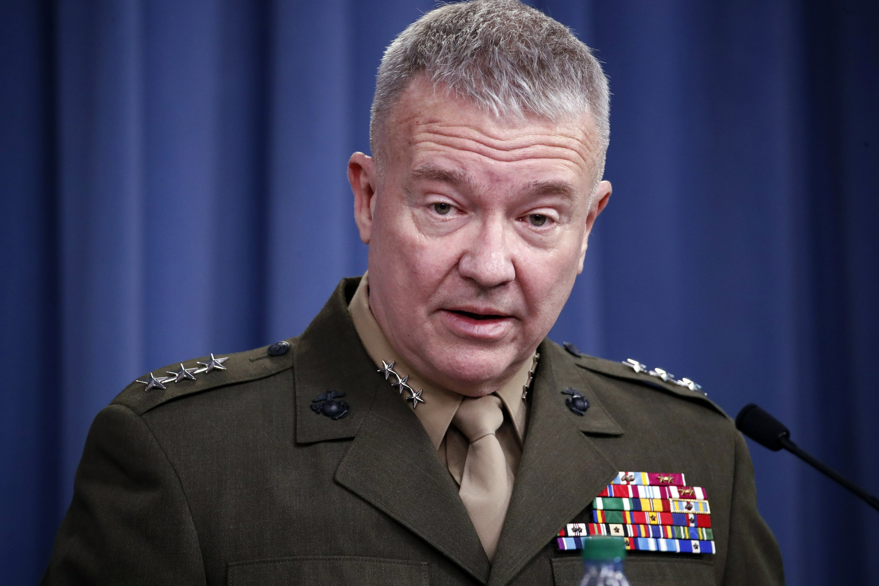 US commander says he believes Iran threat still 'very real'