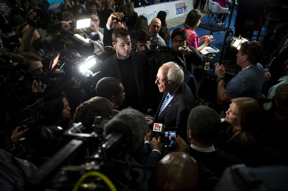 Bernie Sanders Pitches to Black Voters on Ideas and History, While Staying Largely Silent on Faith