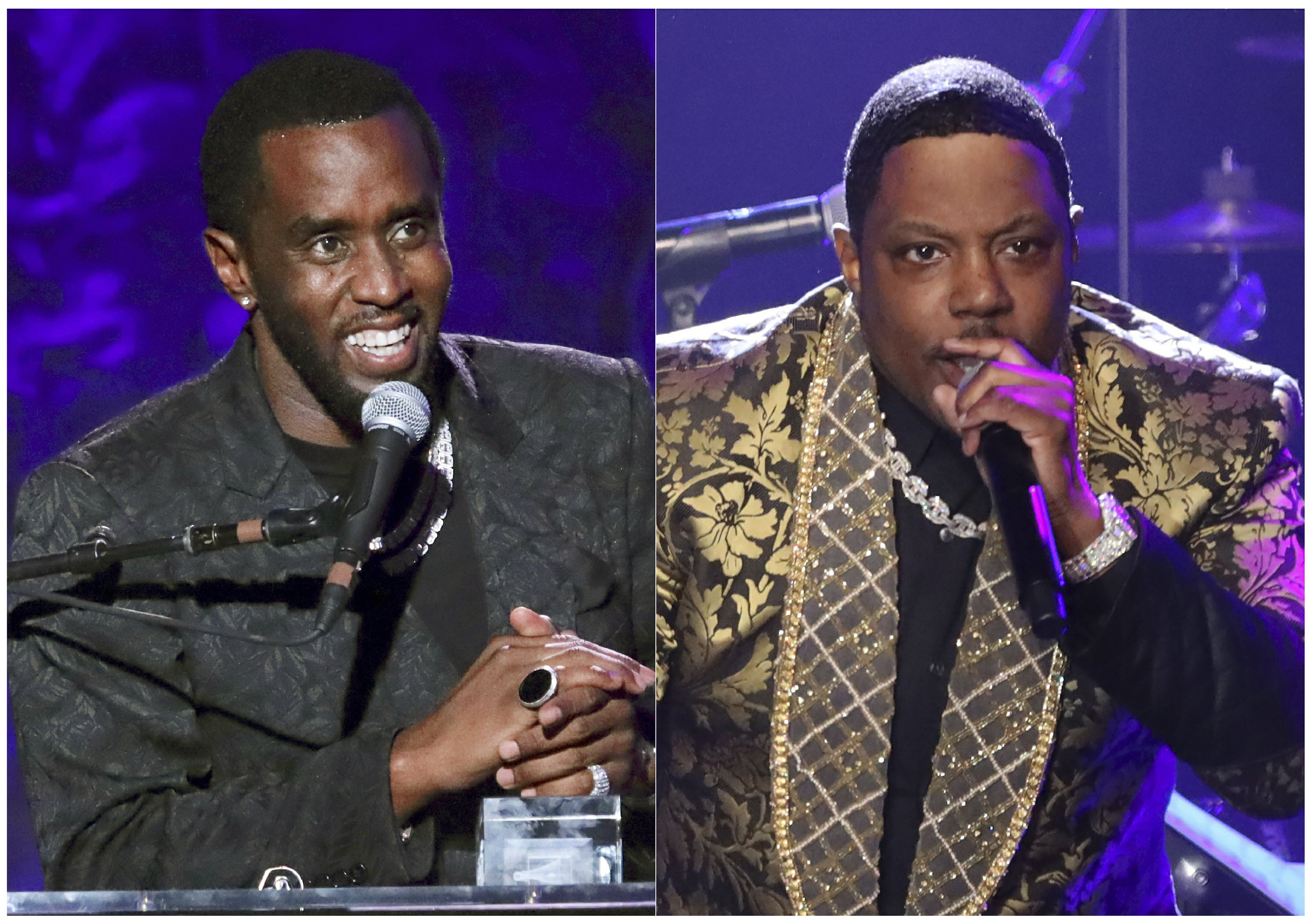 Rapper Mase calls out Diddy over publishing rights - The Associated Press