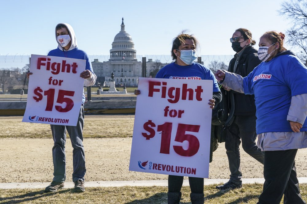 Proposed minimum wage hike all but dead in trillion dollar COVID relief bill