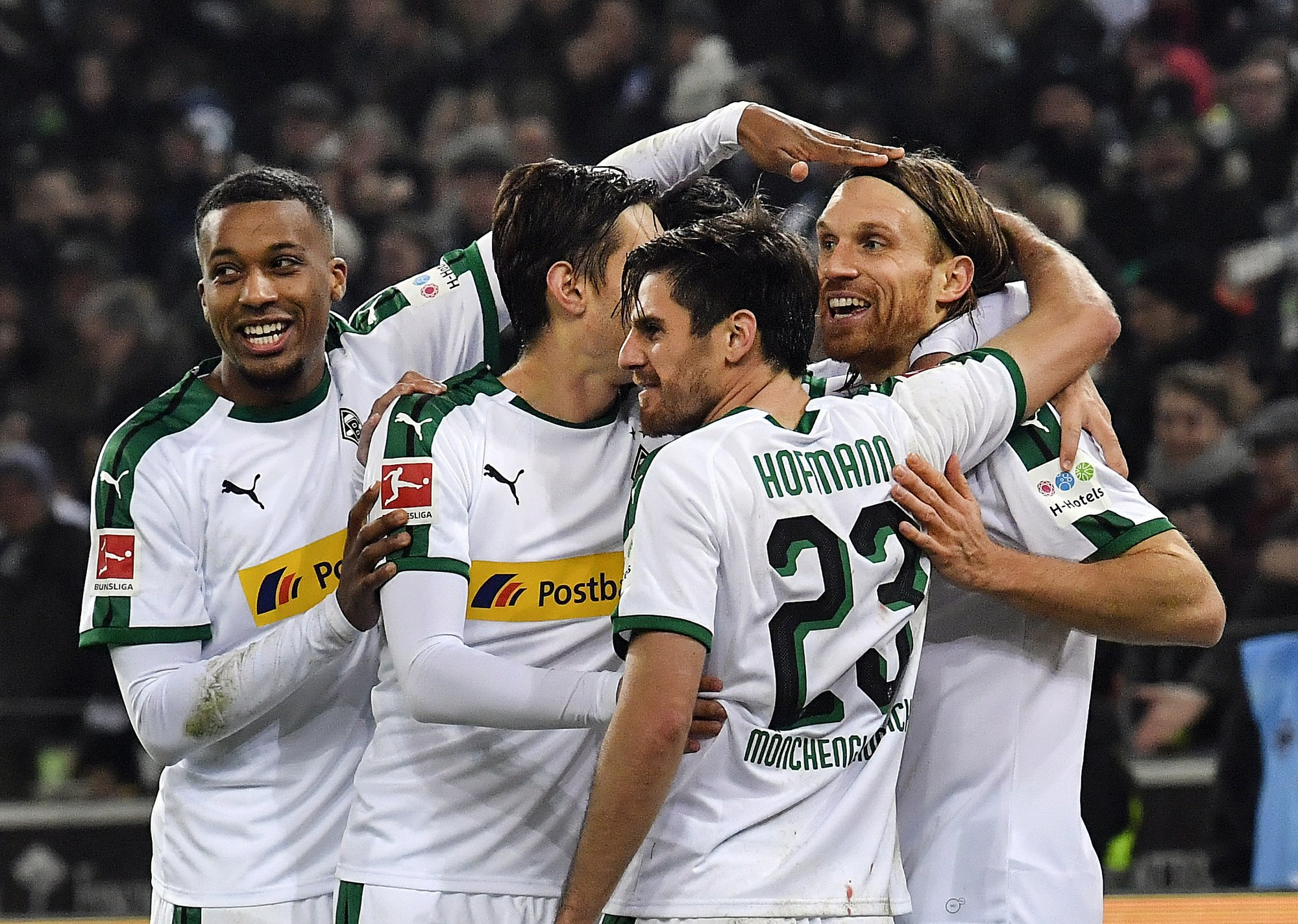 Borussia Mönchengladbach's coaching gamble paying off