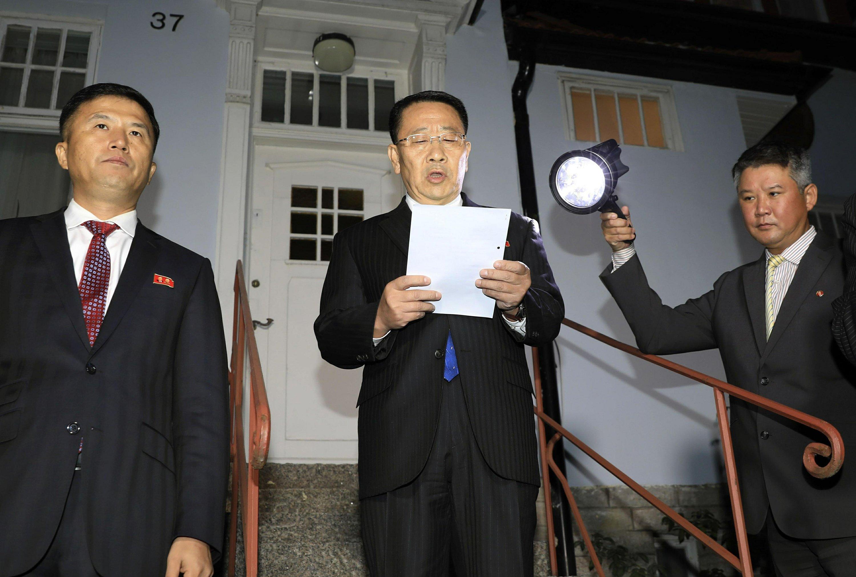 Image result for north korea talks sweden