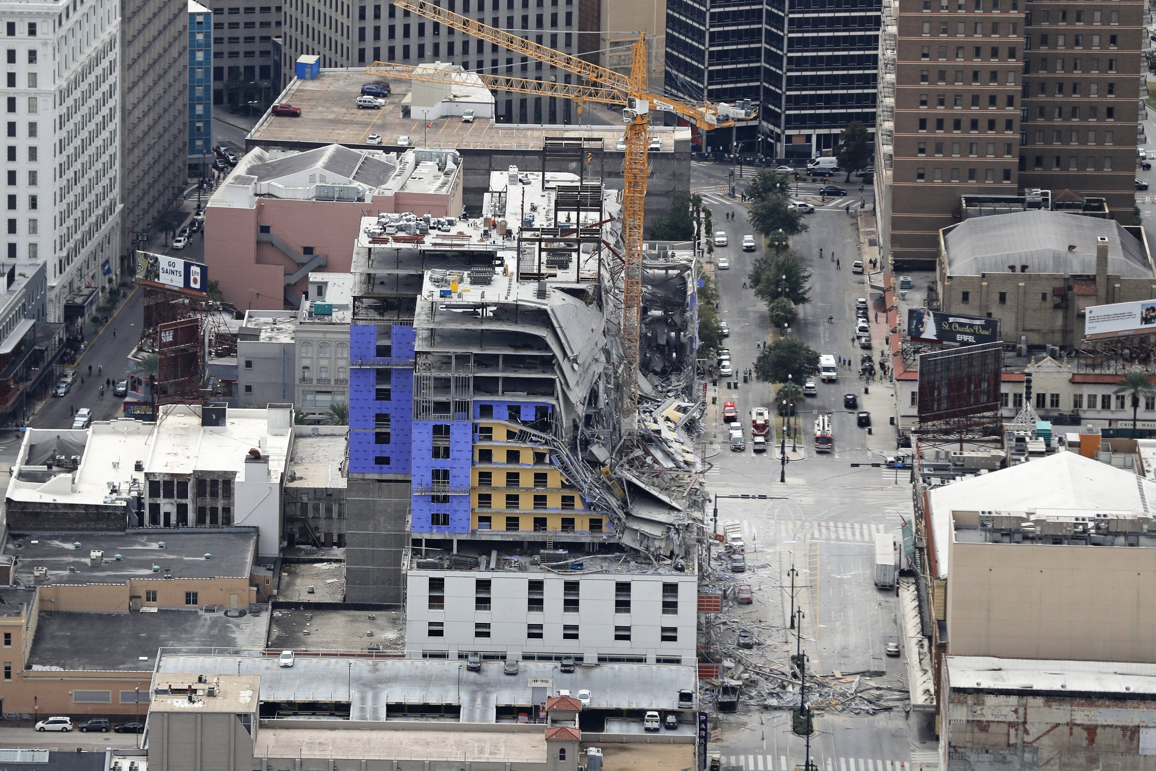 New Orleans Hotels >> Hotel Collapse In New Orleans Leaves 2 Dead 1 Missing