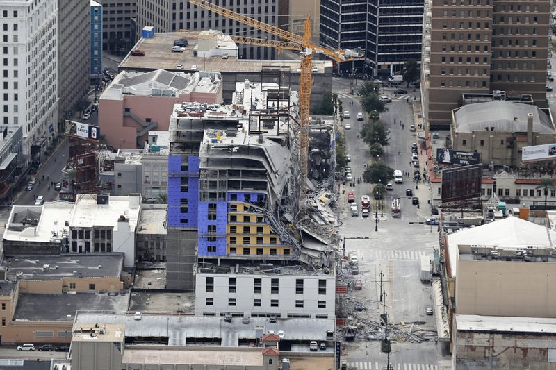 Hotels In New Orleans >> Hotel Collapse In New Orleans Leaves 2 Dead 1 Missing