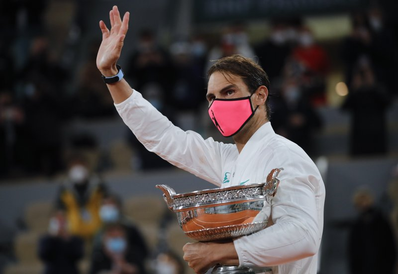 The Latest Federer Congratulates Nadal On th Slam Title