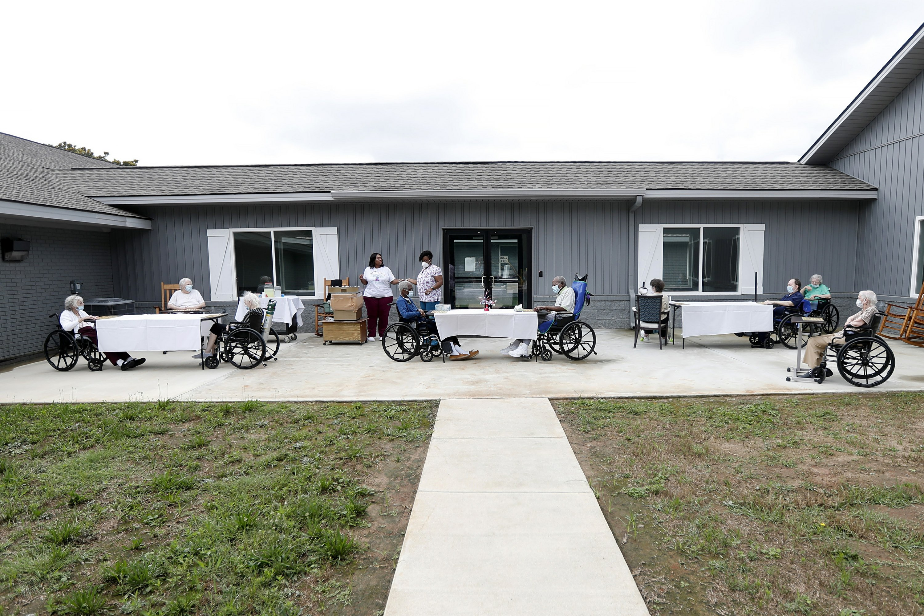 Report Nursing Home Cases Up Nearly 80 In Covid 19 Rebound