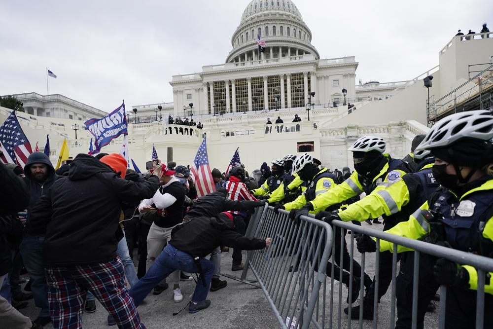 Capitol Police Recommend Six Officers for Discipline Stemming from Jan. 6 Attack