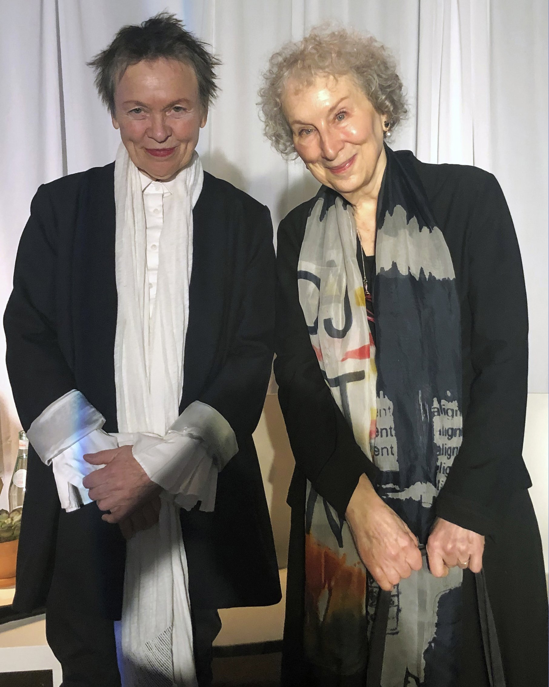 Margaret Atwood and Laurie Anderson talk art, age and more
