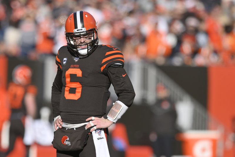 After rough 2019, Baker Mayfield knows he  has to get back on the proverbial fairway