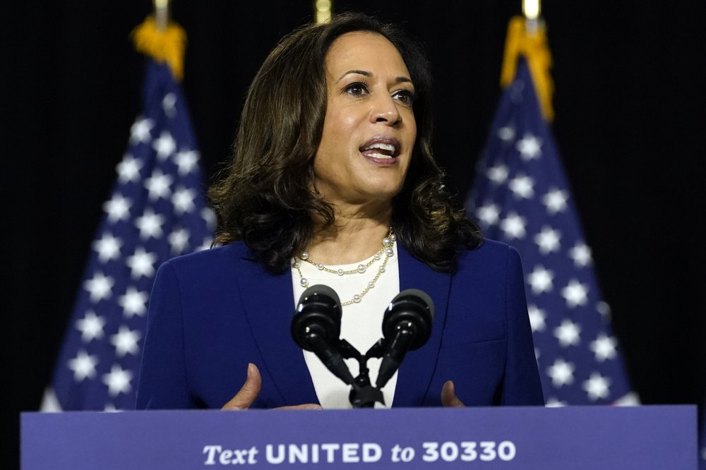 History in the making: First black woman Kamala Harris prepares to make VP acceptance speech