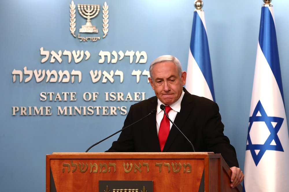 Israel's Netanyahu accused of exploiting virus crisis to place himself in a position of power