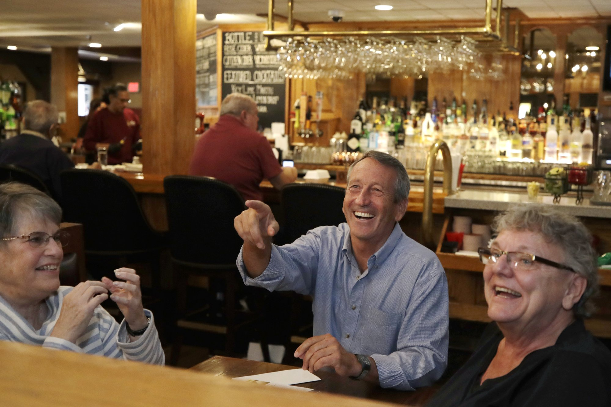 Sanford takes his first 2020 campaign trip to New Hampshire