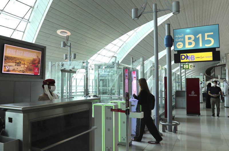 At Dubai airport, travelers' eyes become their passports thanks to new AI program