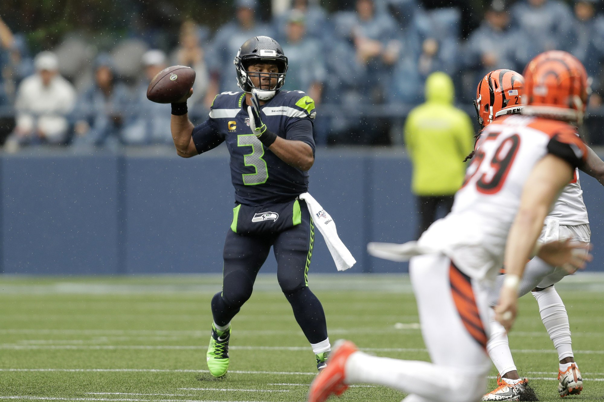 Steelers look to recover from ugly opener against Seahawks