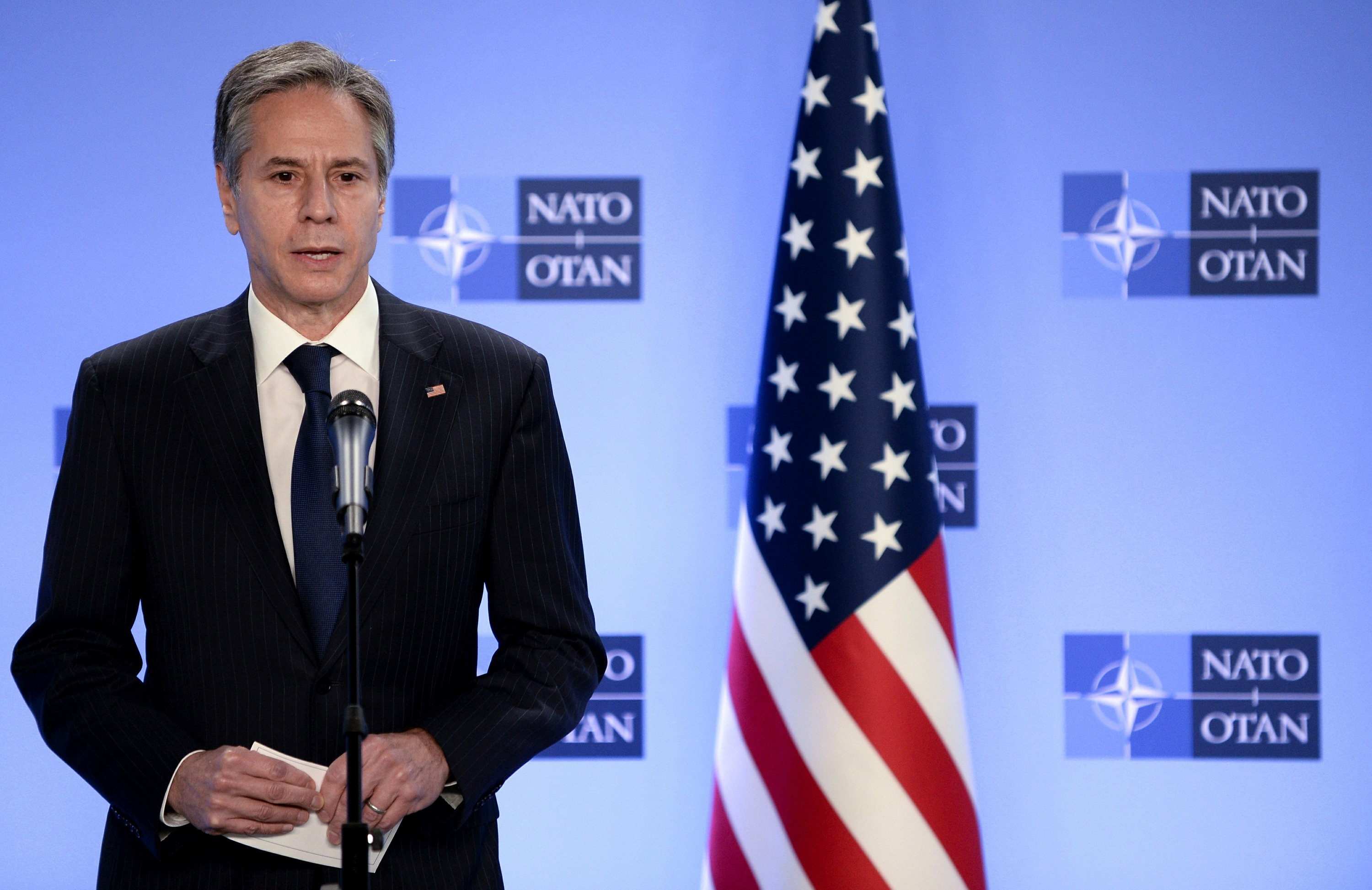 Blinken, Austin brief NATO on Afghan troop withdrawal plan